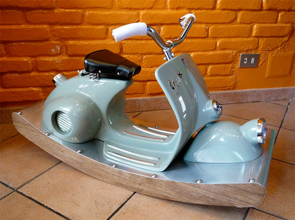 scooter rocking horse plans